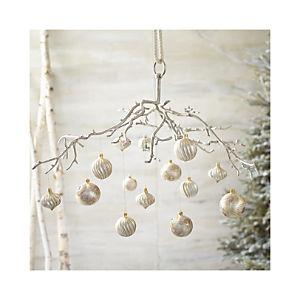 Hanging Aluminum Branch