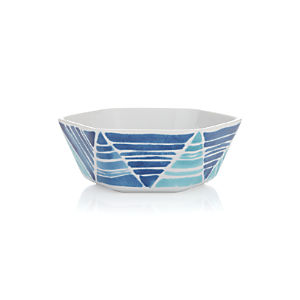 Hanukkah Hexagon Dip Bowl
