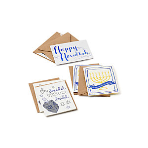 Hanukkah Cards Set of Six