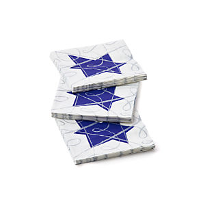 Hanukkah Sketch Paper Beverage Napkins Set of 20