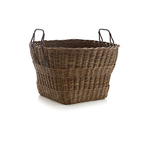 Harbert Basket with Metal Handles