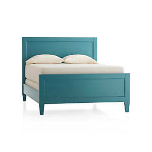 Harbor Blue Queen Bed