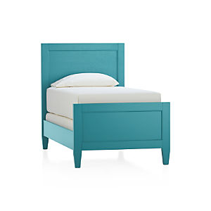 Harbor Blue Twin Bed