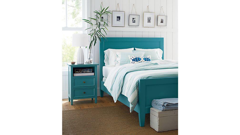 Harbor Blue Full Bed