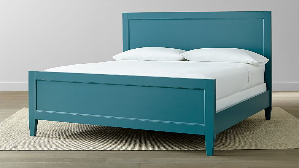 Harbor Blue King Bed