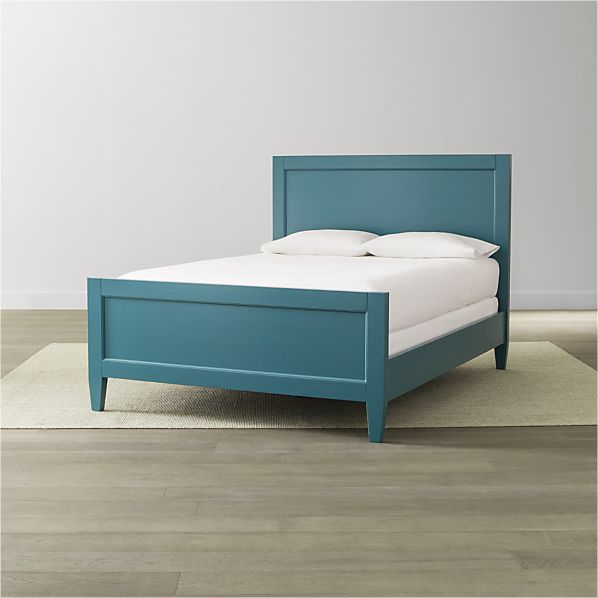 Harbor Blue Bed