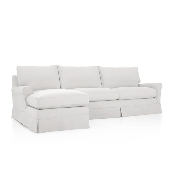Harborside Slipcovered 2-Piece Sectional