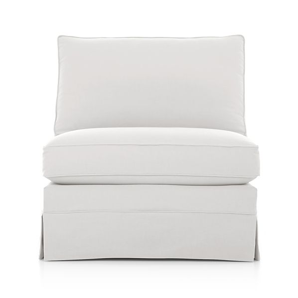 Slipcover Only for Harborside Sectional Armless Chair