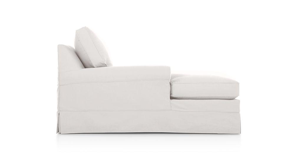 Harborside Slipcovered Left Arm Chaise Lounge