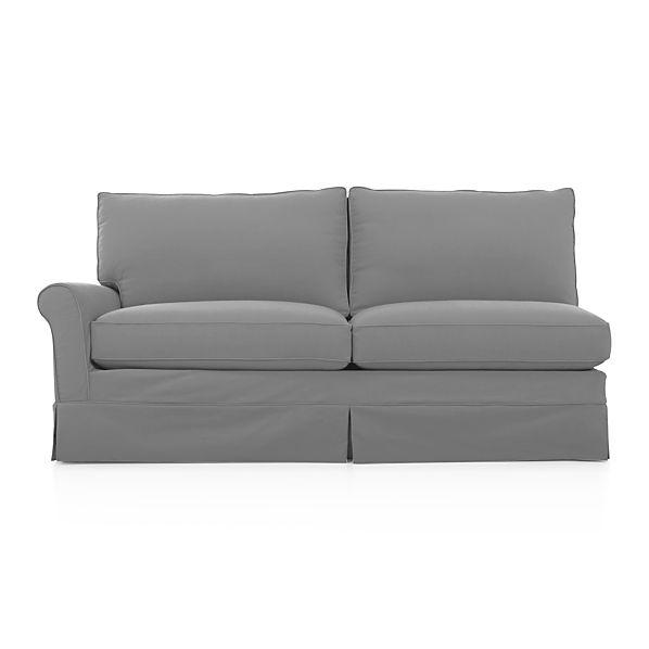 Harborside Slipcovered Left Arm Sofa