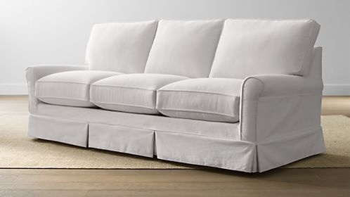 Harborside Slipcovered 3-Seat Sofa
