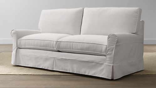 Harborside Slipcovered Apartment Sofa