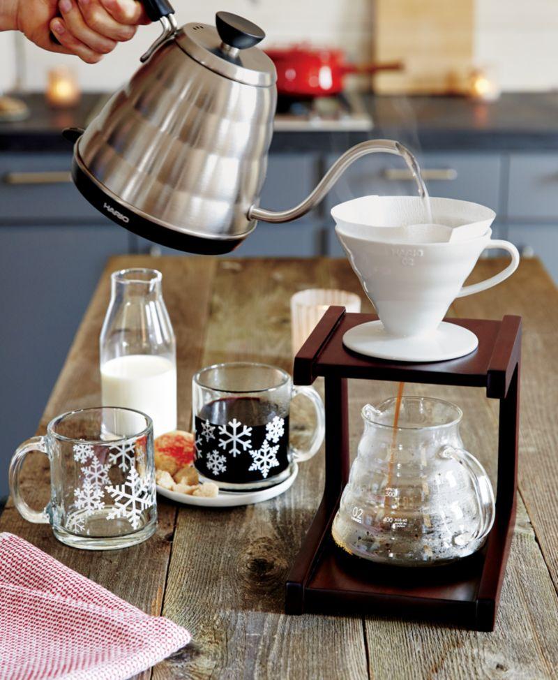 Hario v60 coffee maker system