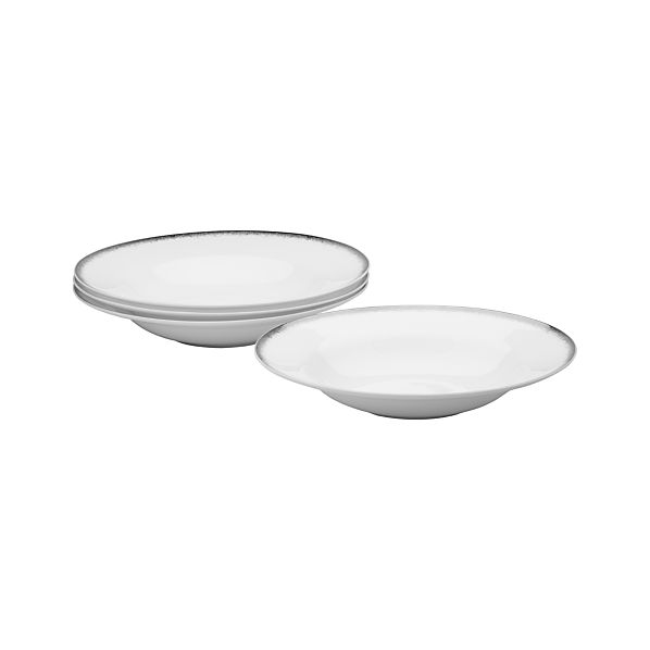 Set of 4 Harper Low Bowls