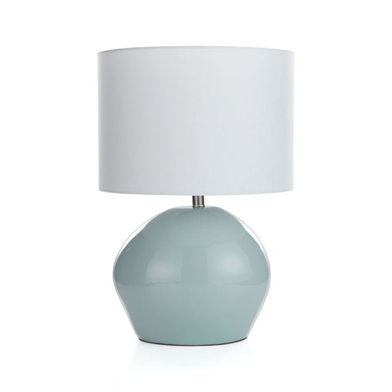 Harper Mist Table Lamp Crate And Barrel