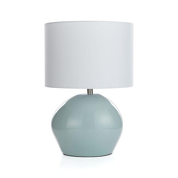 harper mist table lamp crate and barrel. Black Bedroom Furniture Sets. Home Design Ideas