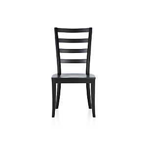 Harper Black Side Chair