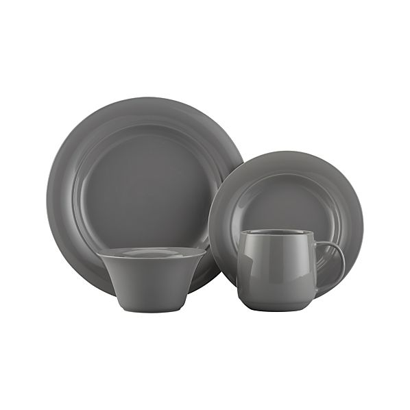 Harris Grey Dinnerware