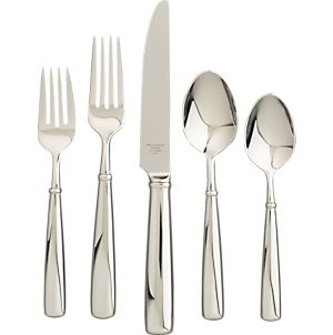 Flatware Patterns: Stainless Steel: On Sale | Crate and Barrel