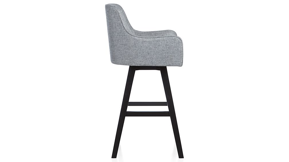 Harvey Swivel Counter Stool In Bar Stools Crate And Barrel