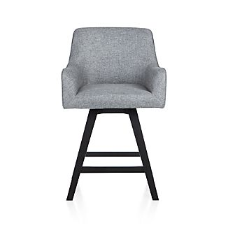 "Harvey 24"" Swivel  Counter Stool"