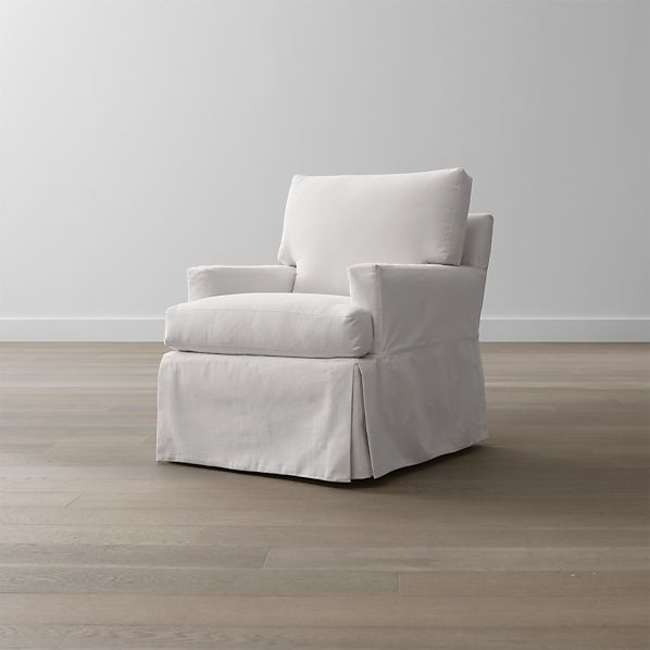 Slipcover Only For Hathaway Swivel Glider Snow Crate