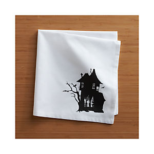 Haunted House Napkin