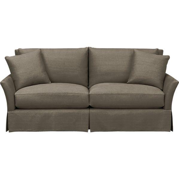 Apartment Sofa: Crate And Barrel