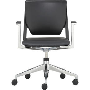 Haworth Very Black Office Chair