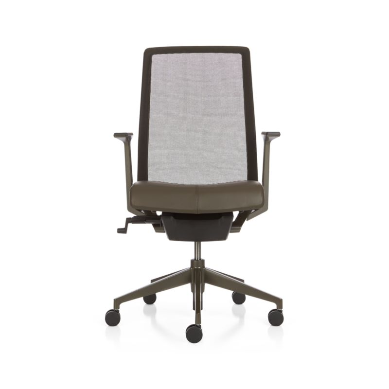 Haworth 174 Very Task Chair Bark Crate And Barrel