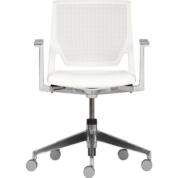 Haworth® Very™ White Office Chair