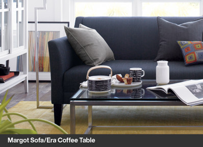 Margot Sofa/Era Coffee Table