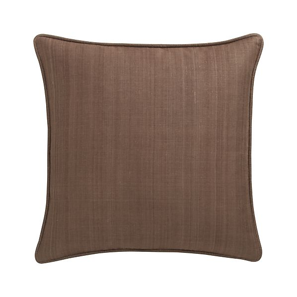 "Hayward Mocha 18"" Pillow"