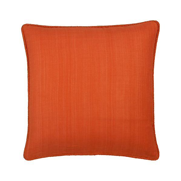 "Hayward Orange 18"" Pillow"