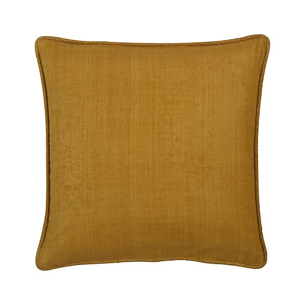 "Hayward Yellow 18"" Pillow"