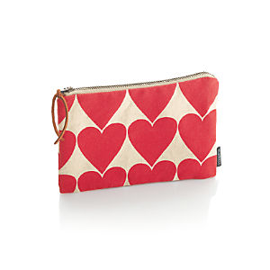 Hearts Zipper Case