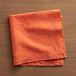Helena Coral Linen Napkin