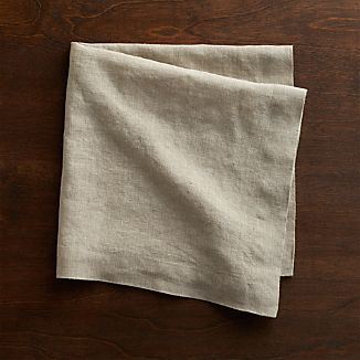 Helena Dark Natural Linen Napkin