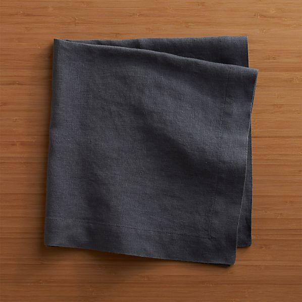 Helena Graphite Linen Napkin
