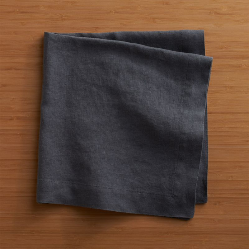 """Lightweight 100% linen napkin unfolds to a generous 22"""" square in beautifully vibrant hues, pre-washed for extra softness. Tailor finished with a 1.5"""" hem and mitered corners.<br /><br /><NEWTAG/><ul><li>100% linen</li><li>Machine wash separately in cold water, dry flat</li><li>Do not iron or bleach</li><li>Made in India</li></ul>"""