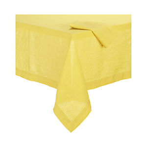 Helena Mustard Tablecloth