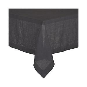 Helena Graphite Tablecloth