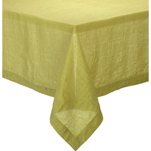 "Helena Pear 60""x120"" Tablecloth"