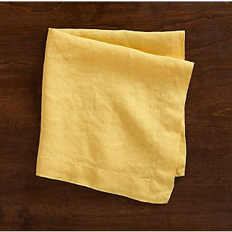 Helena Yellow Napkin