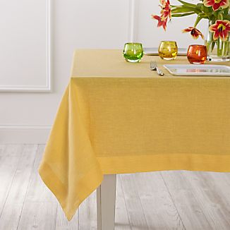 Helena Yellow Tablecloth