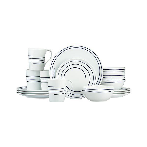 Helix 16-Piece Dinnerware Set