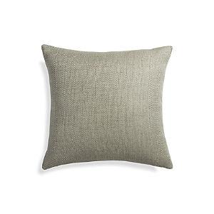 """Herringbone Ocean 20"""" Pillow"""