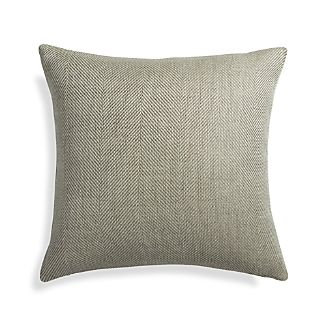 "Herringbone Ocean 20"" Pillow"