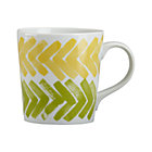 Herringbone Mug. 16 oz.