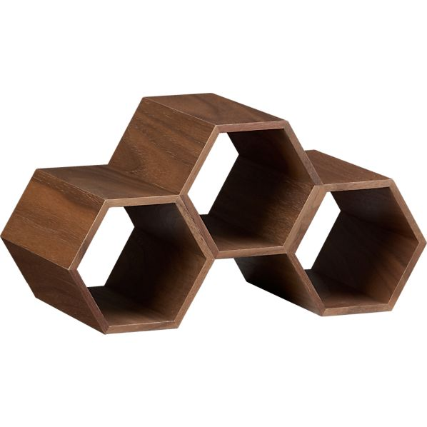 Hexa Stacking Wine Rack